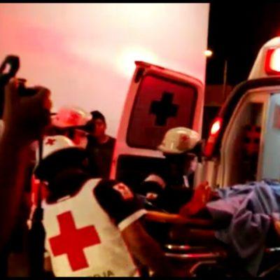 BALEAN A JOVEN EN LA REGIÓN 234: Hospitalizan a hombre que fue atacado por la Avenida 20 de Noviembre de Cancún