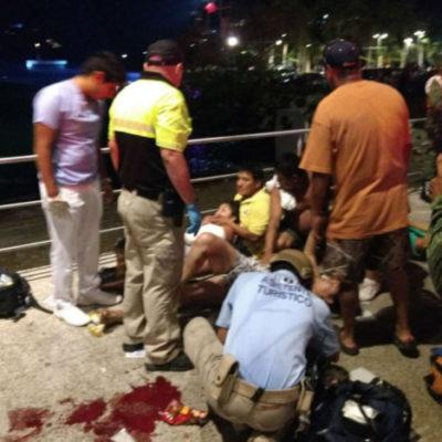 ACAPULCO SE DESANGRA: Ataque armado deja 2 muertos y 6 heridos en plena costera Miguel Alemán