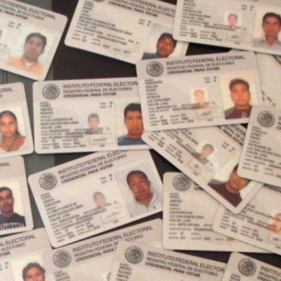 Detectan uso de credenciales de elector falsas en el caso de los despojos de predios durante el borgismo
