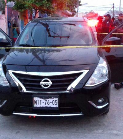 INVESTIGAN POSIBLE CRIMEN PASIONAL: Matan a balazos a una pareja en Villahermosa