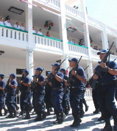 QUITAN ESCOLTAS A EX FUNCIONARIOS Y MEDIOS: Recupera QR 204 policías que fueron apartados de su función de garantizar seguridad de ciudadanos