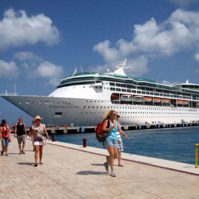 Atracarán 18 cruceros a Cozumel en esta semana