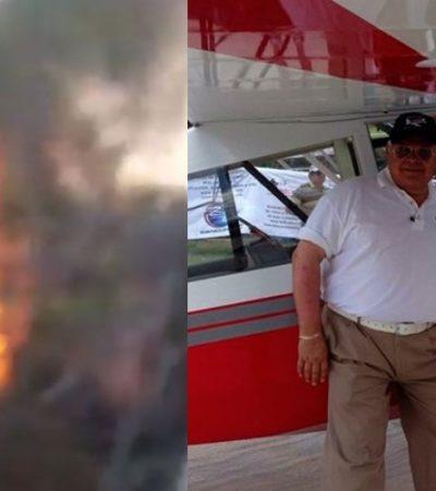 CAE AVIONETA EN CANCÚN DEL 'AEROSHOW': Muere el empresario Eduardo Toledo Parra, dueño del Canal 10