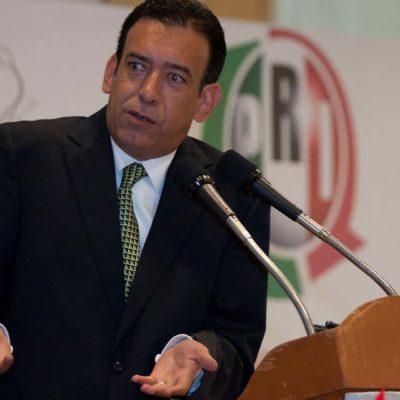 MOREIRA, FUERA DEL PRI: El ex dirigente y ex gobernador tricolor, se postula como candidato por el 'Partido Joven'