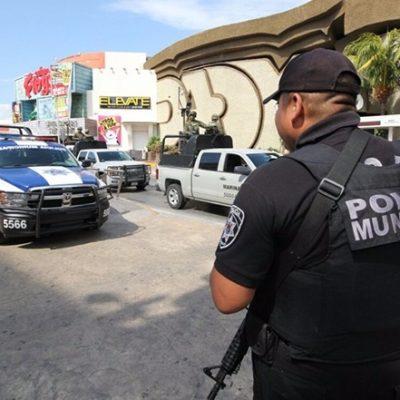 Confirma Alcalde que 22 policías de Cancún que fungían como escoltas ya fueron reincorporados a Seguridad Pública