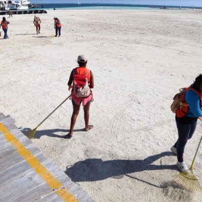 Garantiza Alcalde playas limpias en Cancún