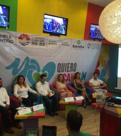 Lanzan campaña 'Yo Quiero a Cancún'