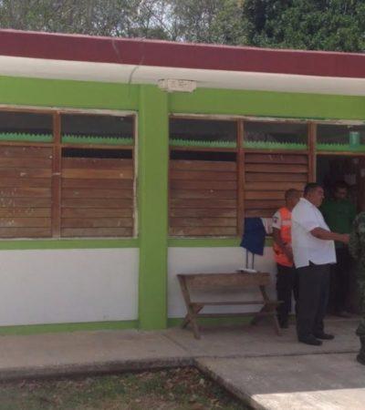 Supervisan refugios anticiclónicos en Puerto Morelos de cara a la temporada de huracanes 2017