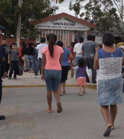 Alistan regreso a clases de 6 mil estudiantes en Puerto Morelos con operativo especial de vigilancia