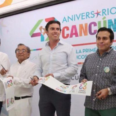 Inauguran exposición de objetos simbólicos e históricos por el 47 aniversario de Cancún