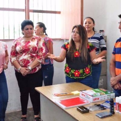 Se reúne Alcaldesa de Tulum con delegados y ofrece fortalecer trabajo en comunidades