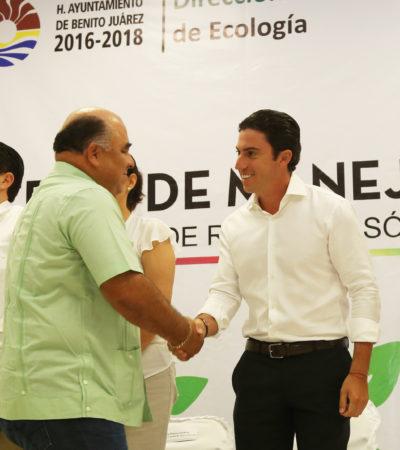 Presenta Alcalde Sistema de Manejo Ambiental que incluye un plan para 32 dependencias municipales en BJ