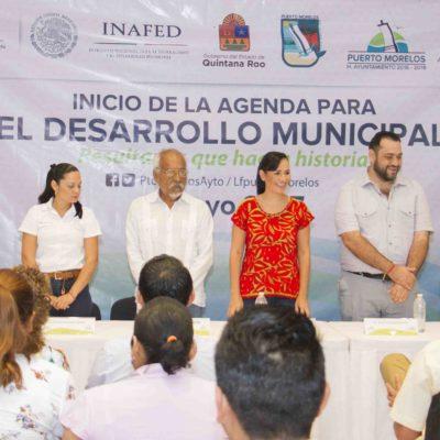 Ponen en marcha en Puerto Morelos la Agenda para el Desarrollo Municipal del Inafed