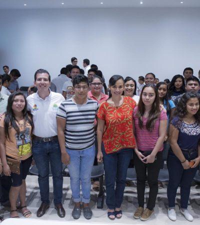 Realizan en Puerto Morelos la Consulta Estatal Juvenil rumbo a la creación de la Agenda Estatal de Juventud 2017-2022