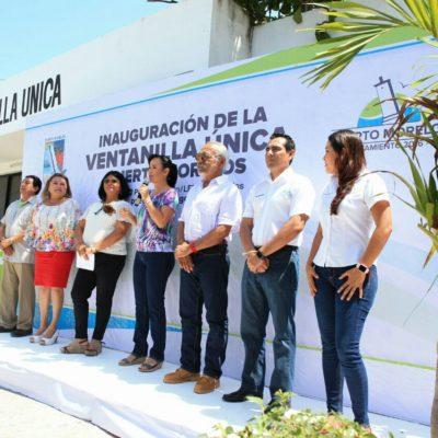 Inauguran la Ventanilla Única para incentivar la inversión en Puerto Morelos