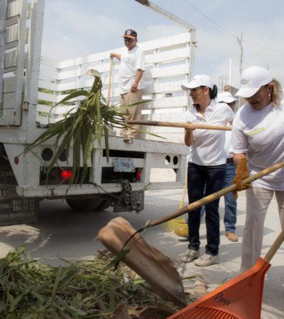 LIMPIAN POZOS DE ABSORCIÓN Y ARENEROS: Se prepara Puerto Morelos para la temporada de lluvias