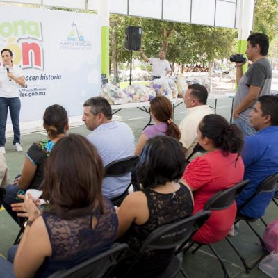 Realizan 'Donatón' en Puerto Morelos para apoyar a familias vulnerables