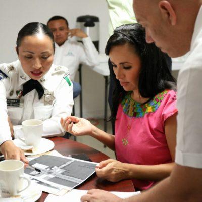 DISCUTEN SOBRE SEGURIDAD EN PUERTO MORELOS: Se reúne Alcaldesa con la coordinadora estatal de la Policía Federal