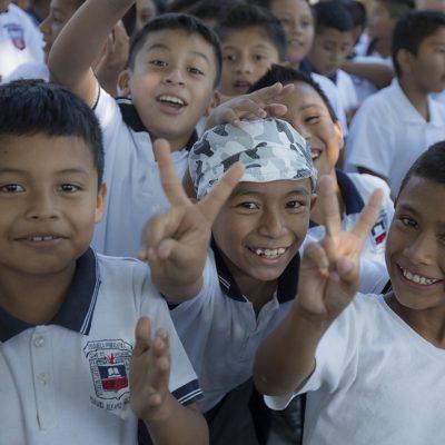 Emprenden en escuelas de Puerto Morelos campaña de  sensibilización para erradicar la violencia intrafamiliar