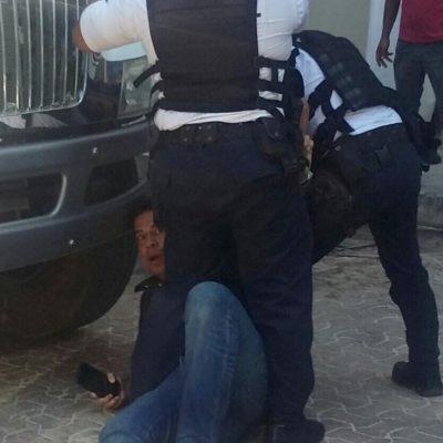 Denuncia líder empresarial agresión de policías municipales de Solidaridad