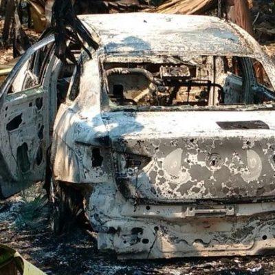 Asesinan y tiran a un río a conductor de Uber y queman su auto en Tabasco
