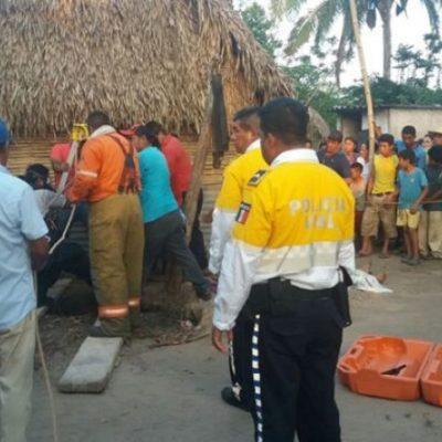 TRAGEDIA EN TABASCO: Cae una niña a un pozo y mueren otras 4 personas más tratando de rescatarla