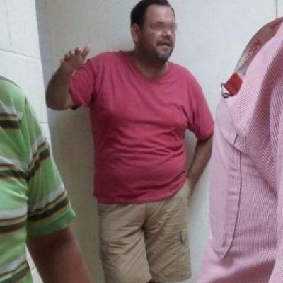 Detienen a presunto trabajador petrolero tras ser sorprendido violando a un niño en pleno supermercado en Tabasco