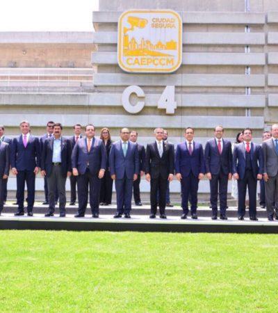 Ante Gobernadores de todo el país, plantea Carlos Joaquín atender la inseguridad con un enfoque integral