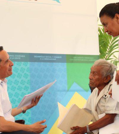 Escucha Carlos Joaquín a bacalarenses durante audiencia pública