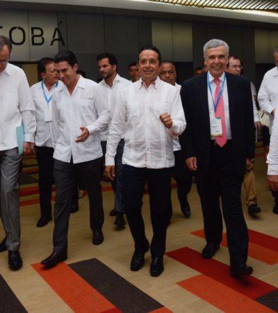 Inaugura Gobernador en Cancún Congreso Mundial del Agua