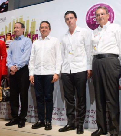 Ratifica Carlos Joaquín compromiso con la prevención ante escenarios de riesgos