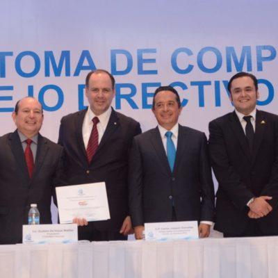SE REÚNE GOBERNADOR CON CÚPULA EMPRESARIAL: 'Toma de compromiso' del nuevo consejo directivo de la Coparmex Cancún