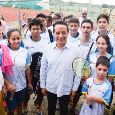 Con inversión de casi 10 mdp, anuncia Gobernador construcción de tres domos deportivos en Cancún