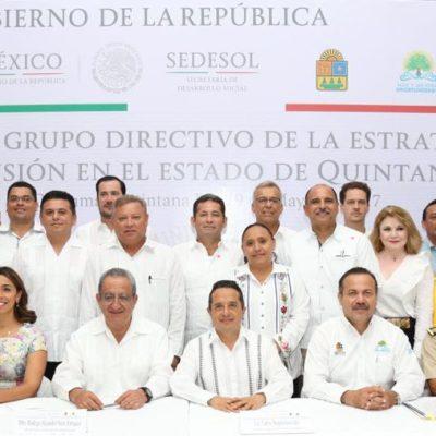 Instala Gobernador el Grupo Directivo de la Estrategia Nacional de Inclusión