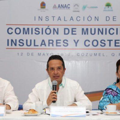 Plantea el Gobernador Carlos Joaquín la construcción de una política costera sustentable