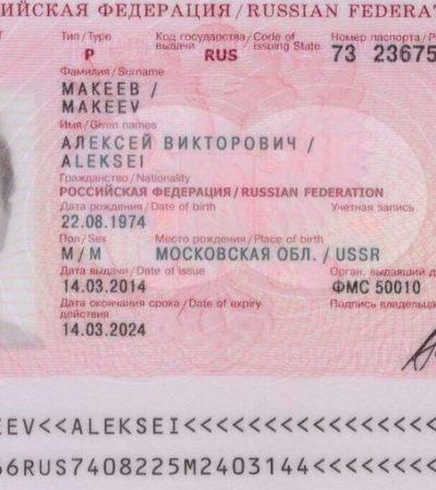 Justifica Migración no haber expulsado a Aleksei Makeev por 'constantes negativas' del consulado ruso