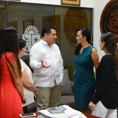 Pide Laura Fernández 'autopista' y no 'camino empredrado' para el posicionamiento de las mujeres en QR