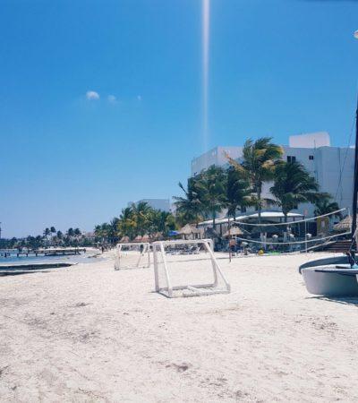 Inician labores de mantenimiento y recuperación de playas en QR