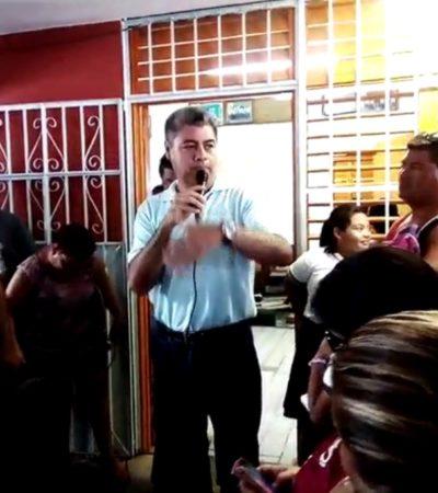 Cambian a directivo de escuela por conflicto con papás en Cancún