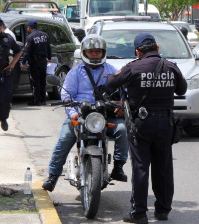 TIENE LÓPEZ MENA OTRA 'GRAN IDEA' CONTRA LA DELINCUENCIA: Planean impedir que dos hombres viajen en una motocicleta para abatir inseguridad
