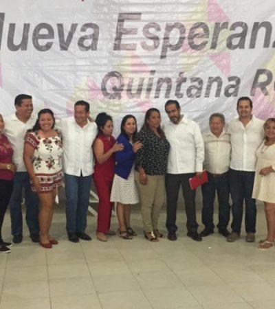 Caso de Eva Cadena es una maniobra burda, dice René Bejarano desde Cancún