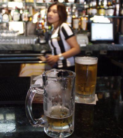 Suman 19 amparos contra la restricción de horarios para venta de bebidas alcohólicas en Cancún