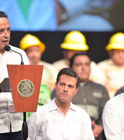Advierte Carlos Joaquín que los riesgos y desastres profundizan las desigualdades y por eso hay que prevenir