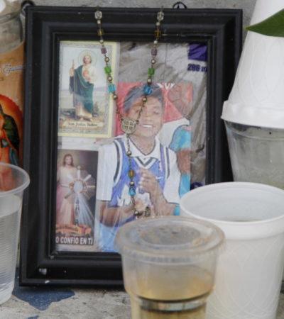 'LALO', EL 'HÉROE DE LA SM 70': A casi una semana del intento de linchamiento, rinden homenaje al joven apuñalado por el ruso de Cancún