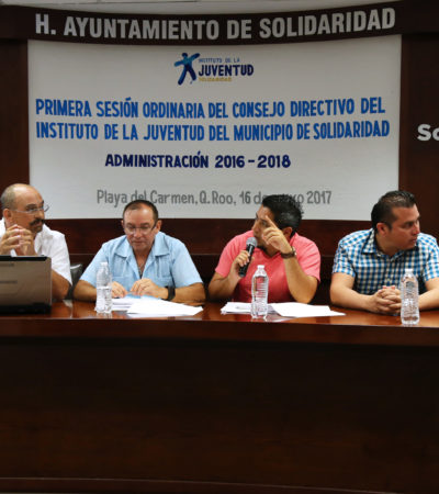 Duplican presupuesto para el Instituto de la Juventud en Solidaridad