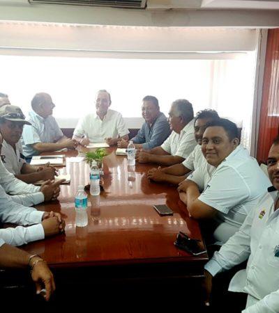 NO QUITAN EL DEDO DEL RENGLÓN: Se reúnen taxistas con Secretario de Gobierno en busca de una 'alianza' contra Uber