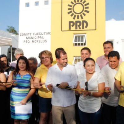 Inaugura PRD oficinas en el municipio de Puerto Morelos