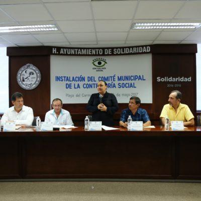 Vigilarán ciudadanos obras y acciones de gobierno a través del Comité de la Contraloría Social en Solidaridad