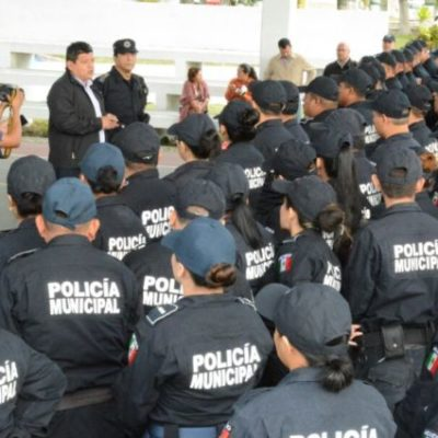 MALESTAR DE POLICÍAS EN CHETUMAL: Despiden a unos 17 elementos por supuestamente reprobar exámenes de control de confianza aun antes de haber terminado