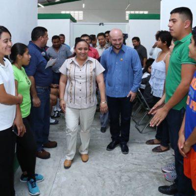 Rehabilitan Gobierno de Solidaridad y Cojudeq el Centro de Formación Deportiva